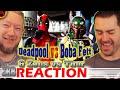 Deadpool vs Boba Fett REACTION! Epic Rap Battles of History (ERB)