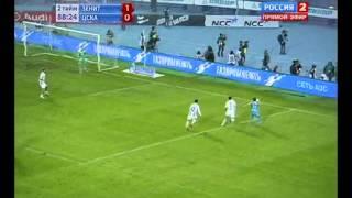 Зенит-ЦСКА 2:0 Быстров Аршавин СУПЕР ПОБЕДА!!!