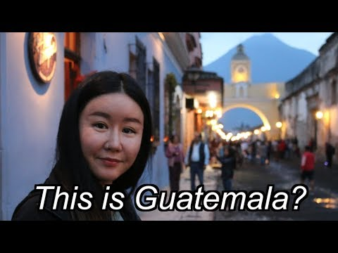 First Impressions of Antigua, Guatemala — Guatemala Travel Vlog #1