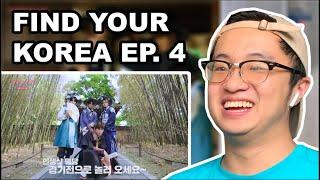 TREASURE X 한국관광공사 - FIND YOUR KOREA EP.4|REACTION!!