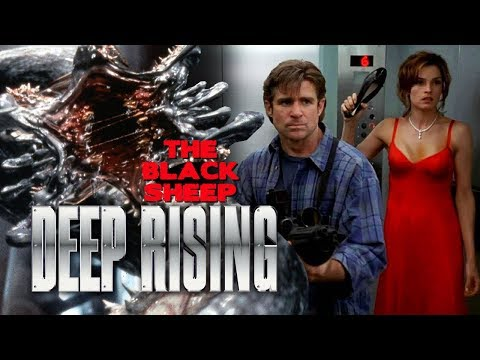 DEEP RISING  The Black Sheep 1998 Treat Williams, Famke Janssen, Stephen Sommers monster movie