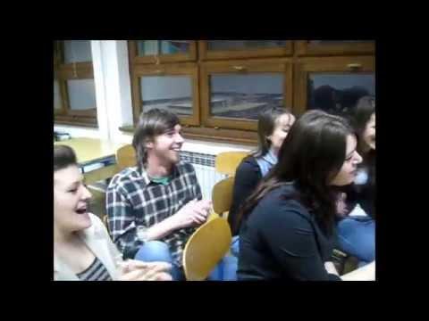 Skype talk of Croatian and Uruguayan students