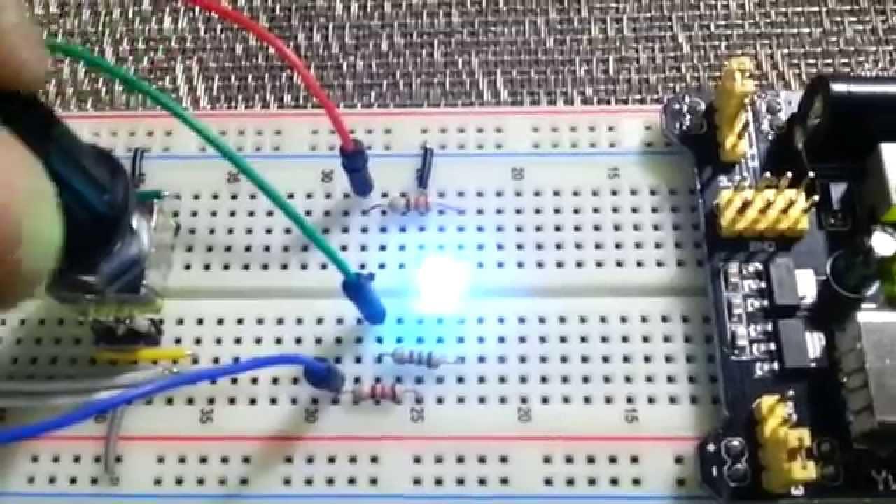 LibStock - Arduino Mini Pro, Rotary Encoder and Piranha RGB LED