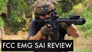 รีวิว EMG / SAI GRY AR-15  ปืนโคตรสวยแต่ราคา... l สนาม Friend Airsoft Gun ระยอง