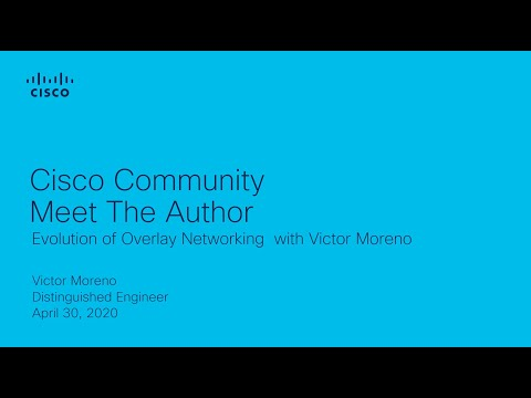 Meet The Authors Event - Evolution Of Overlay Networking