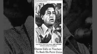 Cesar chavez at the national convention of american federation teachers - august 24, 1973
