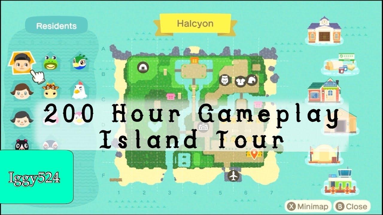 Animal Crossing New Horizons - Island Tour 200 Hour ...