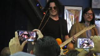 "The Raconteurs ""Sunday Driver"" Live - Amoeba Records, Hollywood"