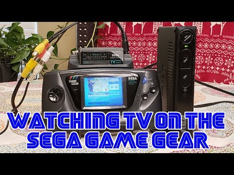 Watching TV On The Sega Game Gear In 2018! | Retail Archaeology 2