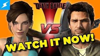 Watch DEATH BATTLE Lara Croft VS Nathan Drake...