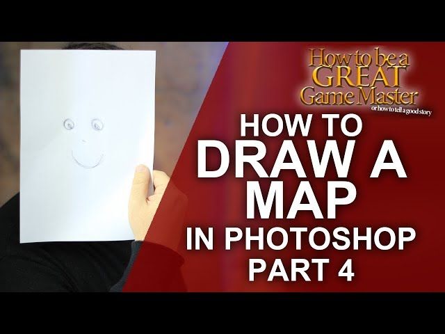 GREAT GM: How to draw a map for your rpg game part 4 - game master dungeon master tips