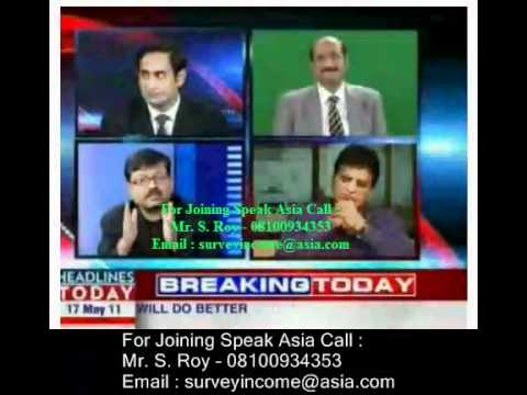 Speak Asia Online CEO Manoj Kumar live At  Headlines Today