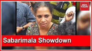 Mary Sweety Stopped By Ayyappa Devotees From Entering Sabarimala