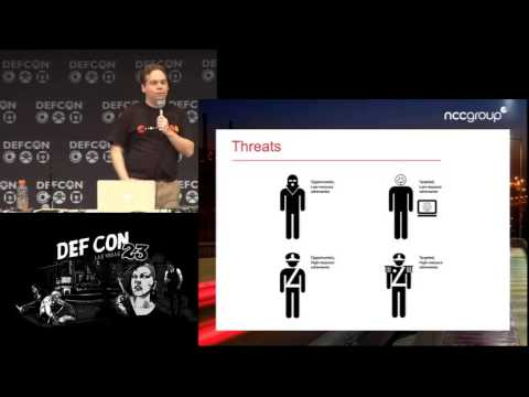 DEF CON 23 - Justin Engler - Secure Messaging for Normal People