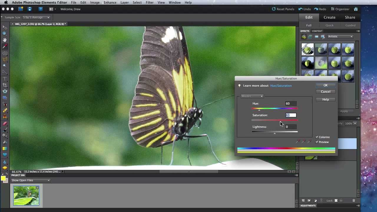 Selective Coloring Effect In Photoshop - Photoshop Essentials