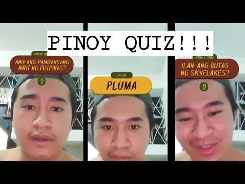 Pinoy Quiz Instagram Filter Youtube