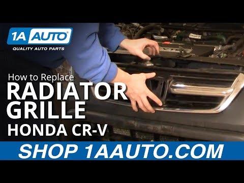 How To Install Replace Radiator Grille Honda CR-V 02-06 1AAuto.com