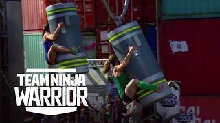 Kacy Catanzaro vs. Luci Romberg | Team Ninja Warrior | American Ninja Warrior