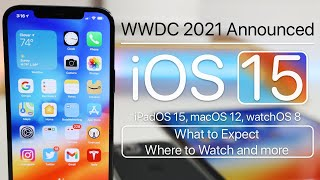 Wwdc 2021 or the world wide developers conference was announced by apple today. wwdc2021 should bring introduction of ios 15, ipados watchos 8,...