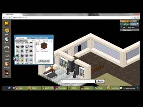 Como crear casa moderna en habbo holo en 6min youtube for Como hacer una casa en habbo