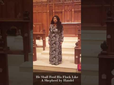 Hannah Jones: Westminster Solo Vocal Artist Audition Recording