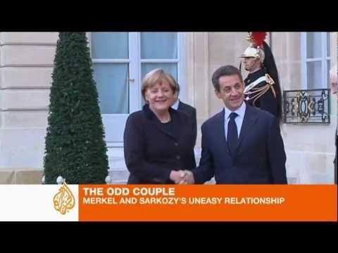 Merkel and Sarkozy's uneasy relationship