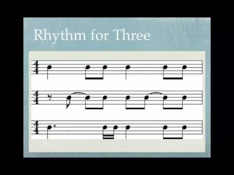 SVCC Music Class - Music Theory Lesson 1: Lines, Spaces, & Basic Rhythms