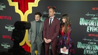 A Series of Unfortunate Events Season 2 NYC Premiere