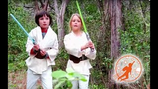 Star Wars Kids 6 - Rescue Mission Part 2 Kid Jedi vs Kid Sith and The Toy Lightsabers