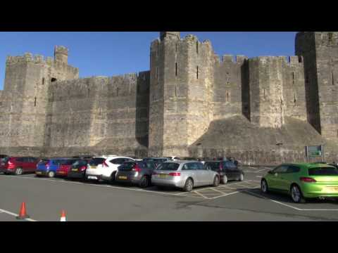 UNESCO Caernafon Castle Wales