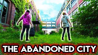 EXPLORING SECRET ABANDONED CITY (200ft ClockTower)