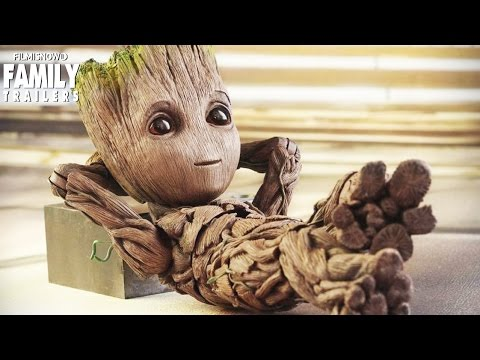 Guardians Of The Galaxy Vol 2 Baby Groot No 1 Cute Youtube