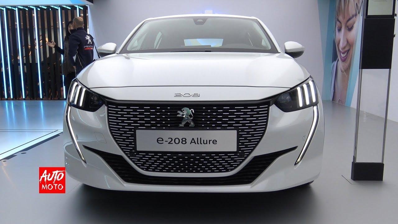 2019 Peugeot E 208 Allure Exterior And Interior Walkaround 2019 Geneva Motor Show By Auto Moto
