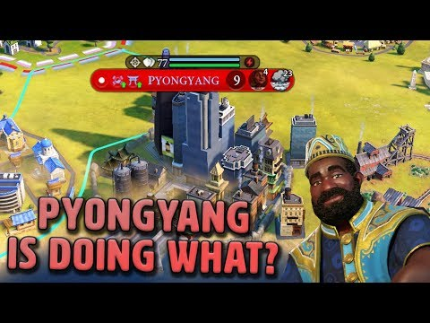 Pyongyang is Doing What?? - Mali [#17] - Civilization VI Gathering Storm