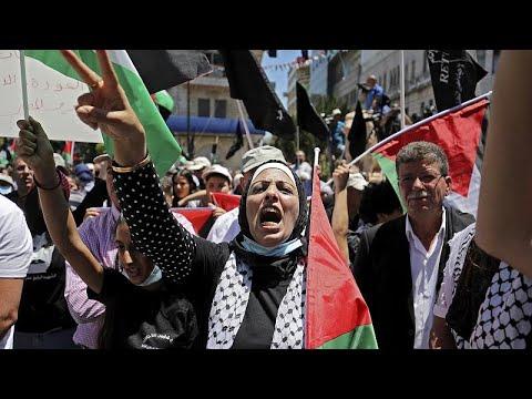 الفلسطينيون يحيون ذكرى النكبة في الضفة الغربية  - نشر قبل 1 ساعة