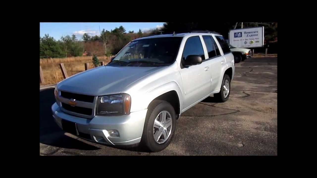 2007 Chevrolet Trailblazer LT Start Up, Engine & Review ...