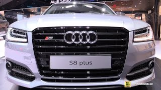 2016 Audi S8 Plus Exterior and Interior Walkaround 2015 Frankfurt Motor Show