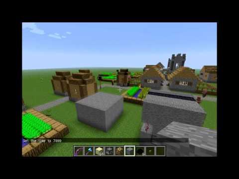 minecraft день на сделать сервере в игре как