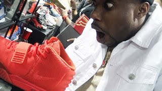 I BOUGHT BRAND NEW RED OCTOBER YEEZYS FOR $40 @SneakerCon! FINESSE! Sneaker Vlog Ep.41