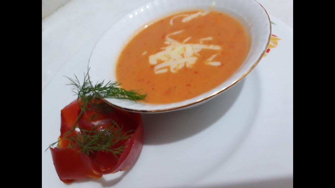 Pratik Domates Çorbası / çok kolay tarifler