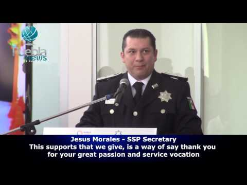 Governor Tony Gali gives supports to Public Security Elements||