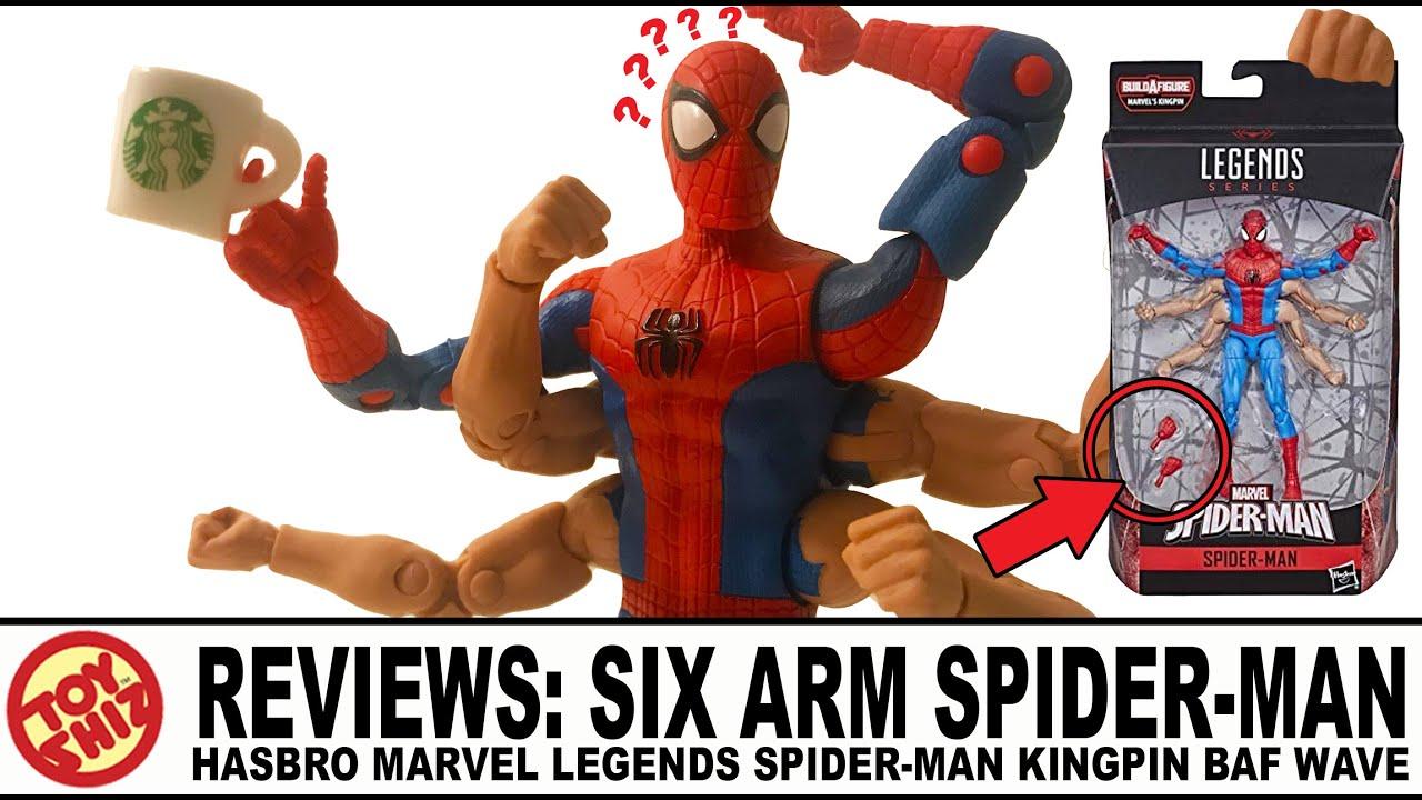 Marvel Legends ~ SIX ARM SPIDER-MAN ACTION FIGURE ~ BAF Kingpin Wave