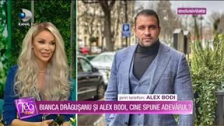 Teo Show(11.03.)-Bianca si Alex Bodi, acuzatii grave! Ce au de impartit cei doi in urma divortului?