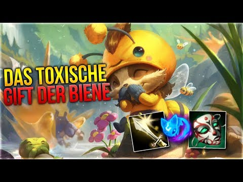 Das Toxische Gift der Biene! Teemo Toplane [League of Legends] [Deutsch / German] thumbnail