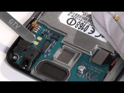 LG Optimus Hub E510 - как разобрать смартфон, из чего он состоит