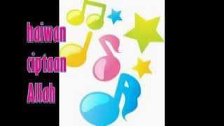 lagu pendidikan kanak-kanak bunyi haiwan