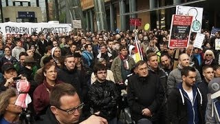 Verschwörungstheoretiker: Montagsdemos in Berlin