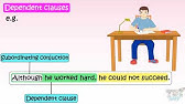 Grade 5 English Conjunctions Worksheetcloud Online Lesson Youtube