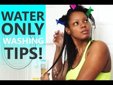 Water Only Washing Update: 1 Year Without Shampoo!! Fine/Thin/4A Natural Hair | BorderHammer