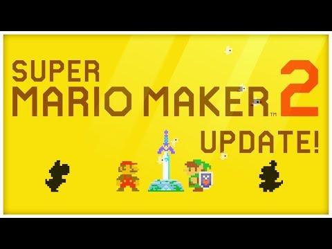 LINK & das MASTER SCHWERT! NEUES UPDATE für Super Mario Maker 2 kommt DONNERSTAG!